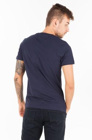Marškinėliai CORE MONOGRAM BOX LOGO SLIM TEE-2