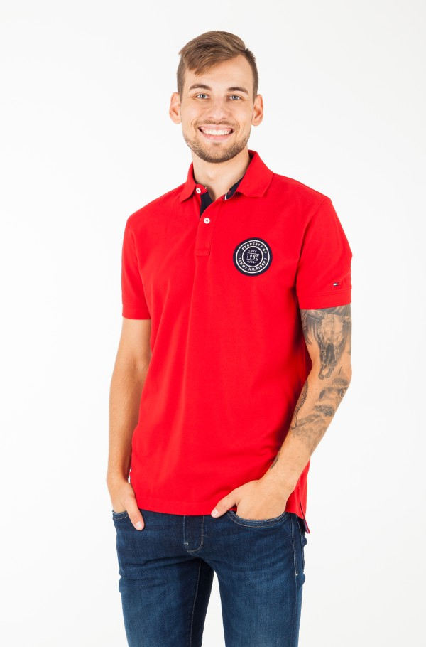 SOLID BADGE REGULAR POLO
