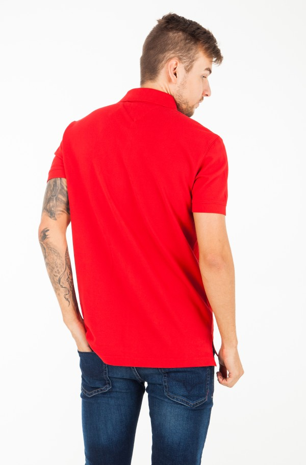 SOLID BADGE REGULAR POLO-hover
