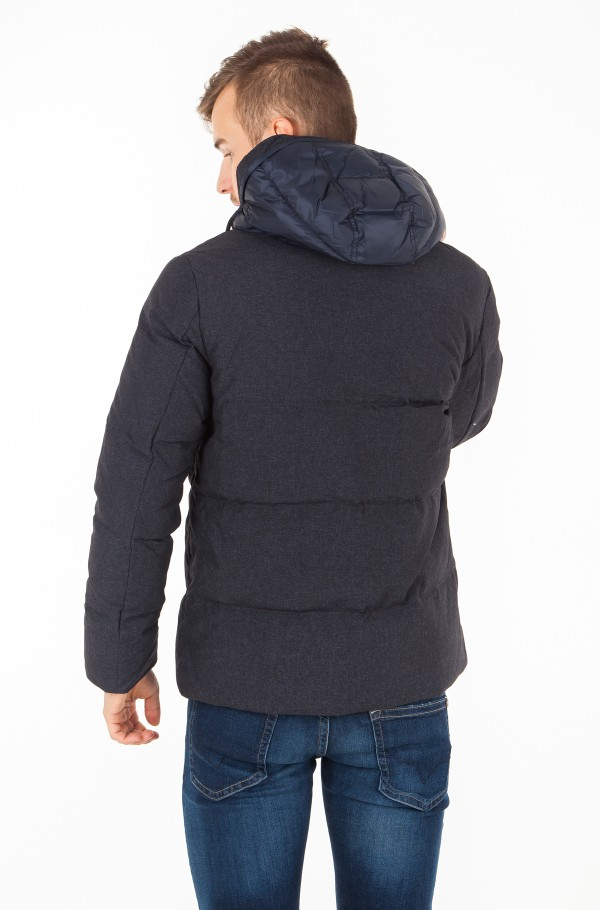 STRUCTURE NYLON DOWN BOMBER-hover