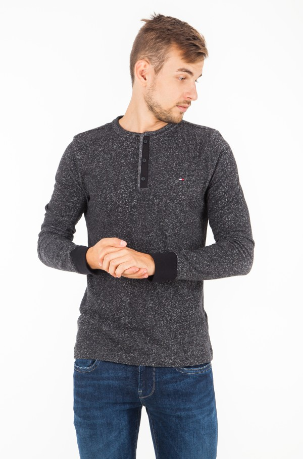 PLAITED HENLEY LONG SLEEVE