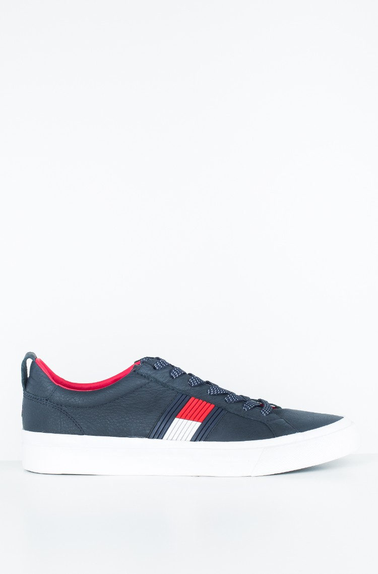 b3fc6736b6f6 Casual shoes FLAG DETAIL LEATHER SNEAKER Tommy Hilfiger