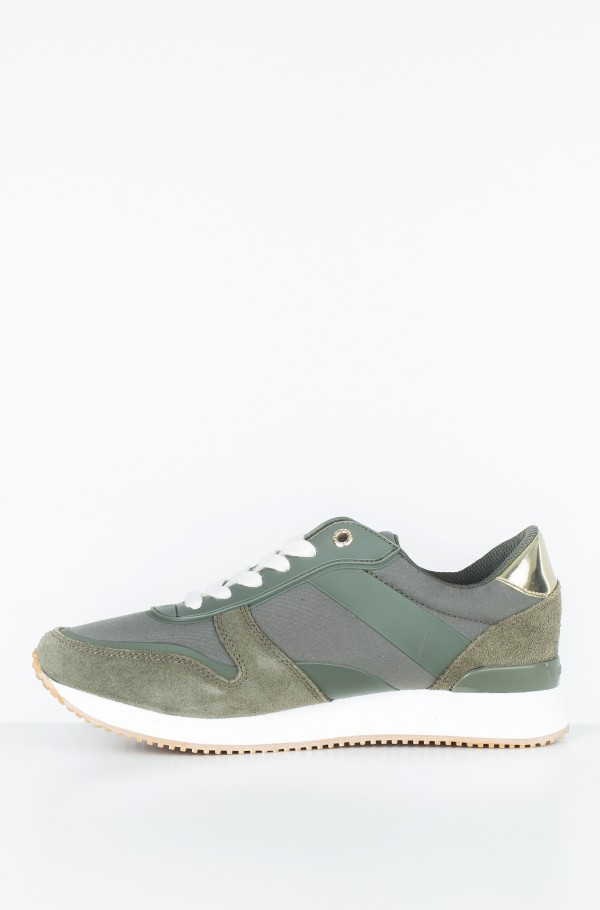 MIXED MATERIAL LIFESTYLE SNEAKER-hover