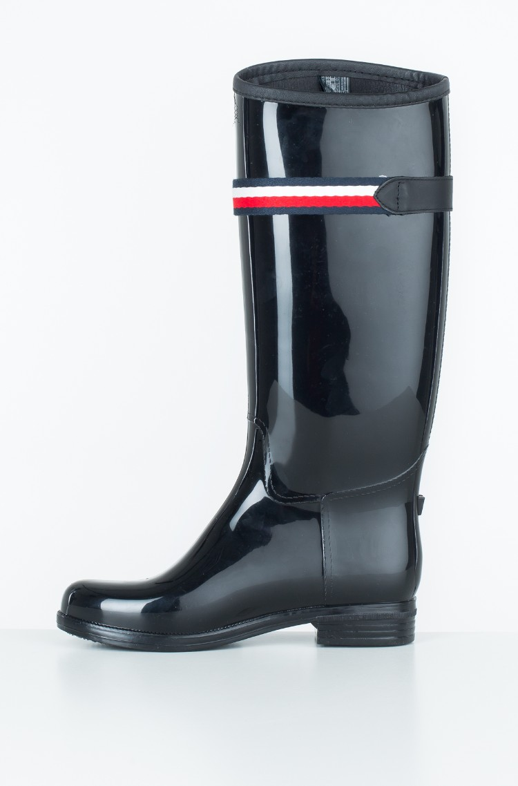 c864921fde Rubber boots CORPORATE BELT LONG RAIN BOOT Tommy Hilfiger, Womens ...