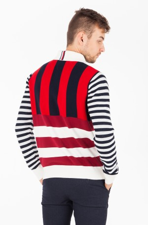 Sweater STRIPE KNITTED RELAXED FIT POLO-2