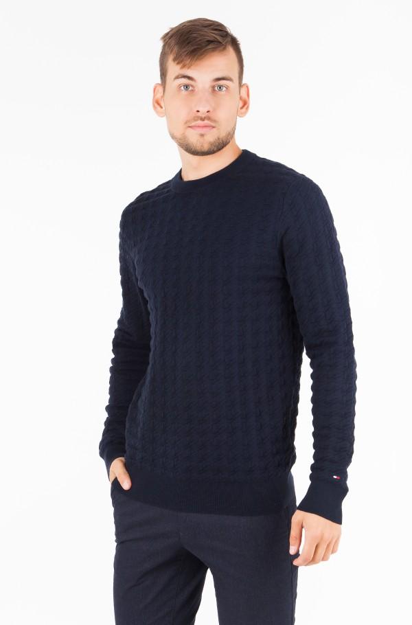 GRAPHICAL HOUNDSTOOTH CNECK