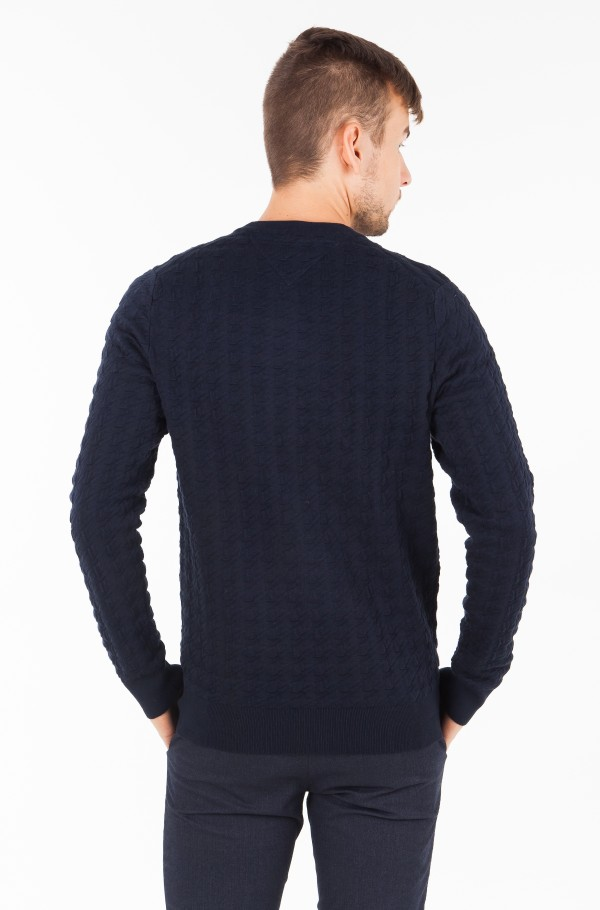 GRAPHICAL HOUNDSTOOTH CNECK-hover