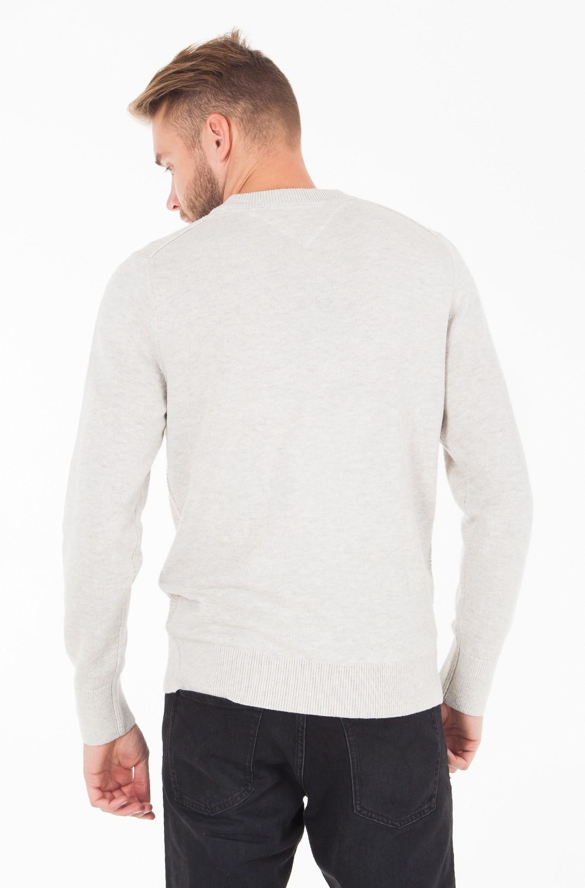 Džemperis WOOL BLEND STRUCTURED CNECK-full-2