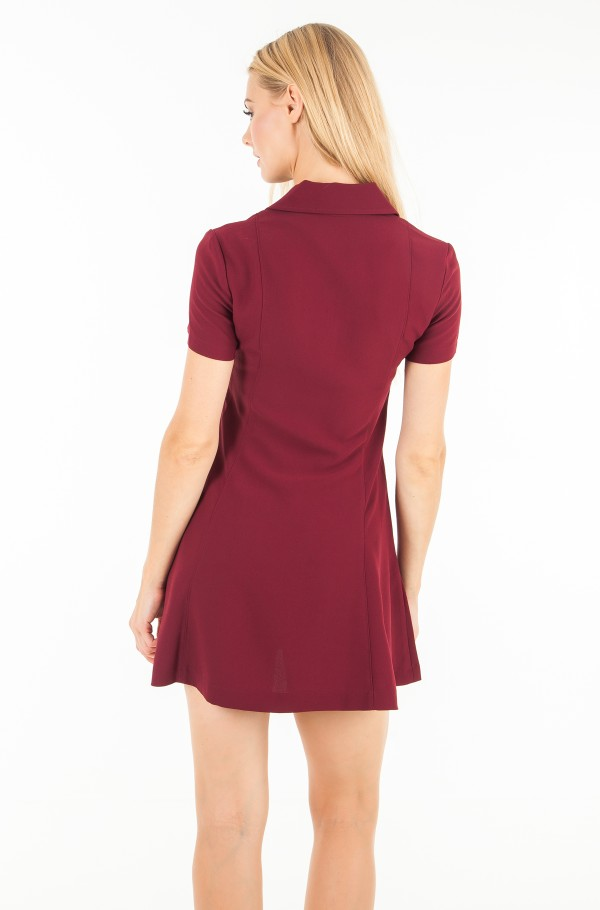 FLARED ZIP DRESS-hover