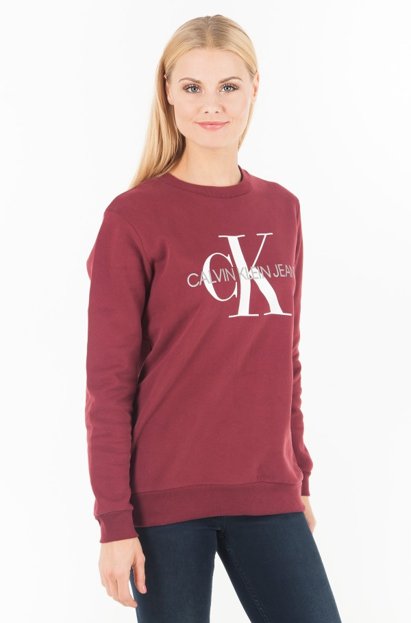 MONOGRAM RELAXED FIT CREW NECK