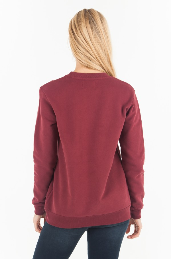MONOGRAM RELAXED FIT CREW NECK-hover