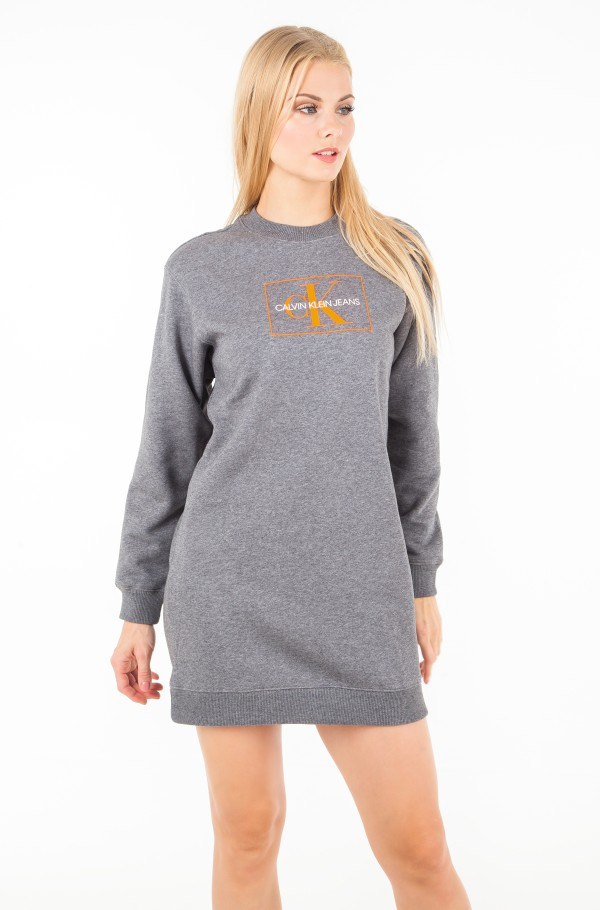 GRAPHIC SWEATSHIRT DRESS