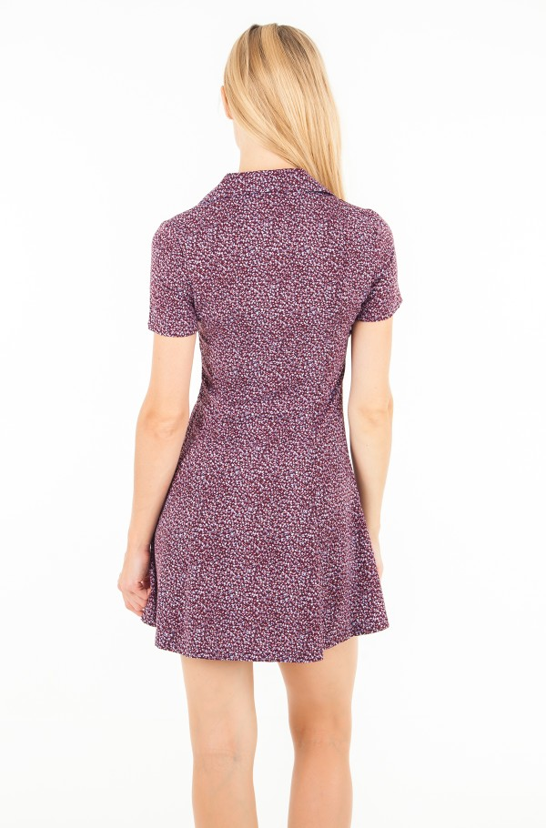 FLOWER PRINT DRESS-hover