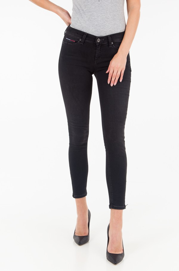 MID RISE SKINNY NORA 7/8 ZIP CUBLST