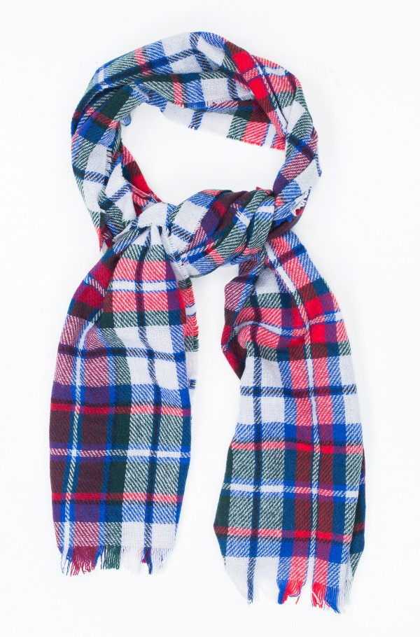 MIDWEIGHT TOMMY CHECK SCARF