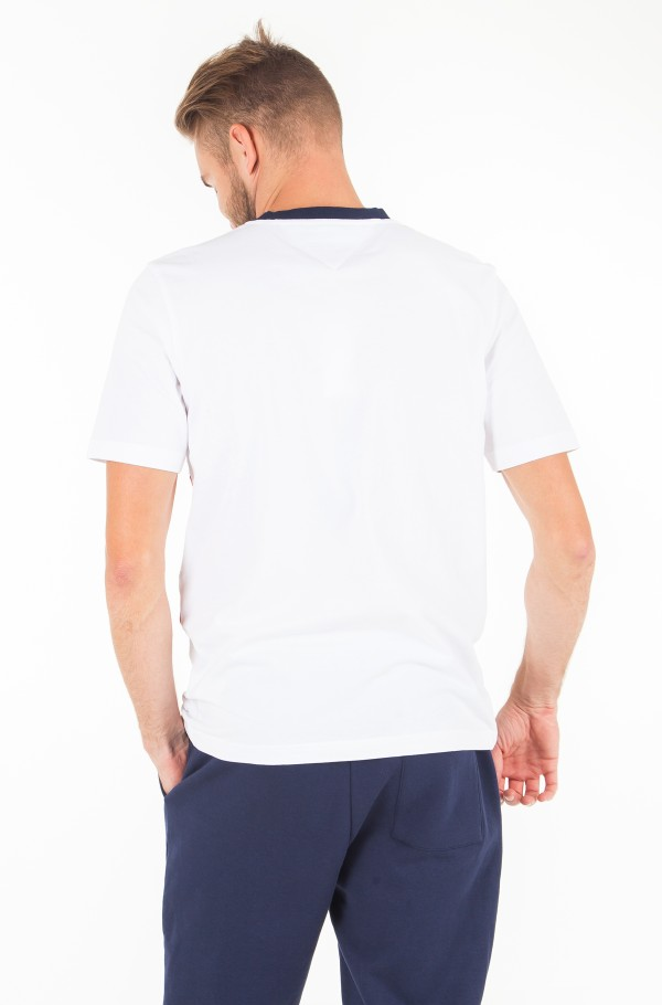 CUT&SEWN PANEL FASHION FIT TEE-hover