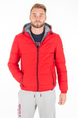 Jaka REVERSIBLE HOODED BOMBER-1