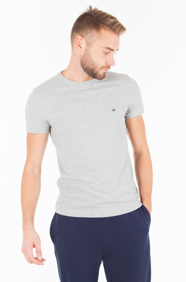 CORE STRETCH SLIM CNECK TEE