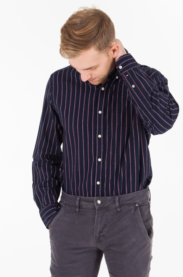 GLOBAL REGIMENTAL STRIPED SHIRT