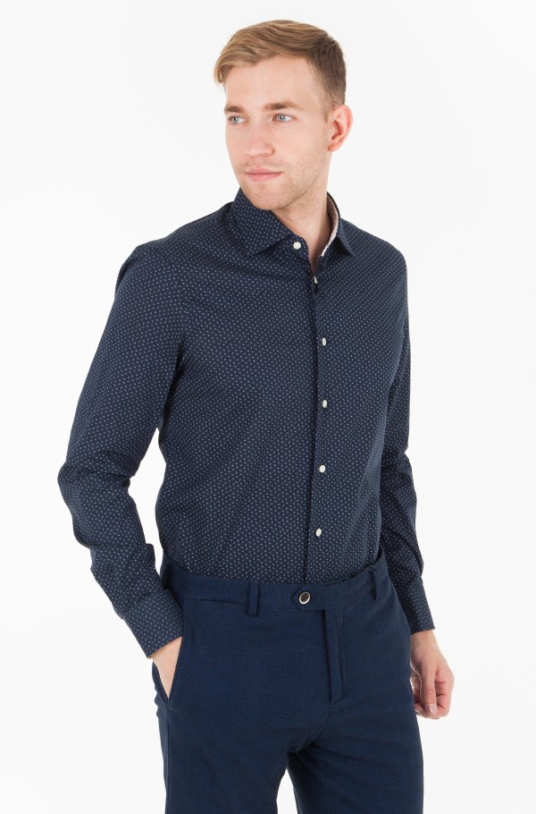 PRINT STRETCH CLASSIC SHIRT