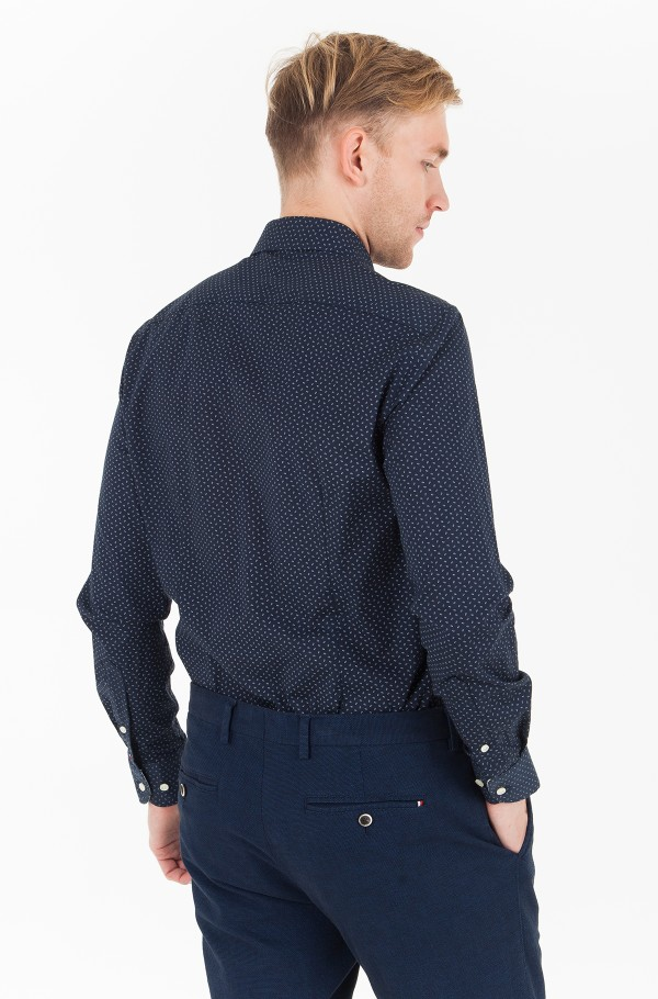 PRINT STRETCH CLASSIC SHIRT-hover