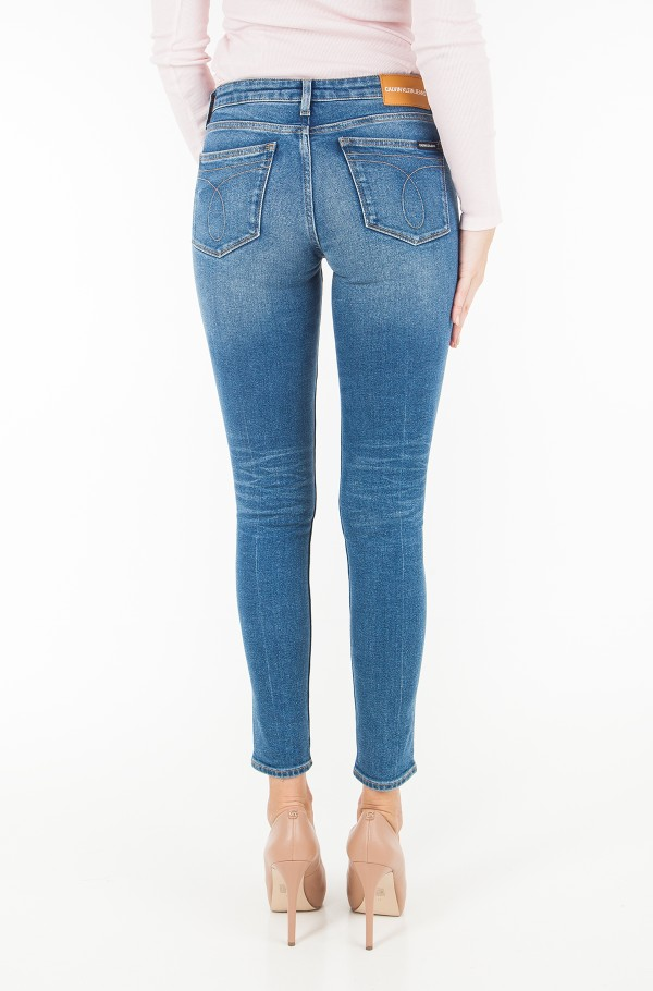 CKJ 011: Mid Rise Skinny West - Chico Blue-hover
