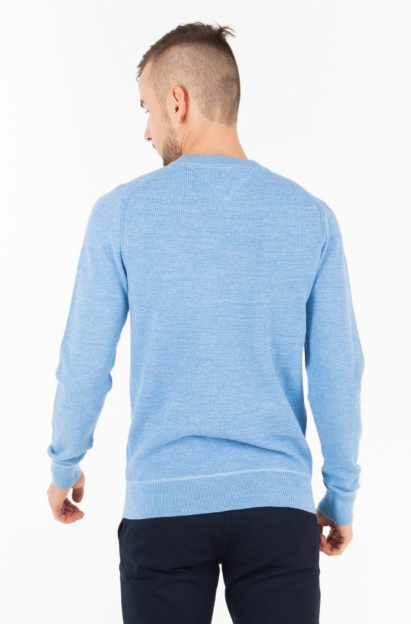 WAFFLE STRUCTURED CNECK-hover