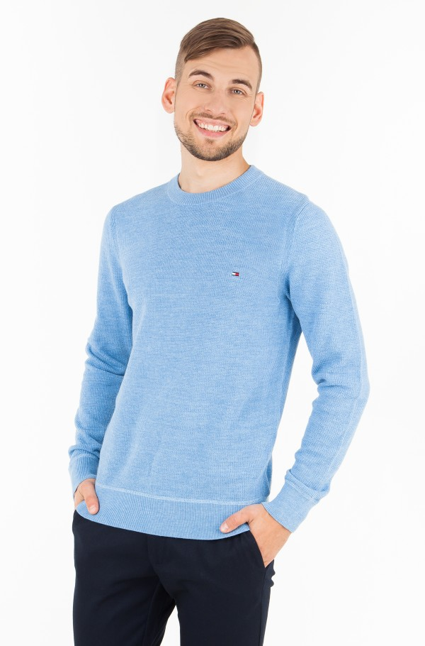 WAFFLE STRUCTURED CNECK