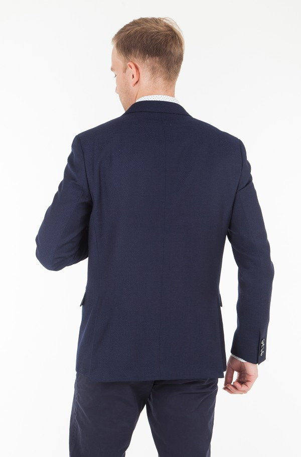 WOOL STRUCTURE SLIM FIT BLAZER-hover