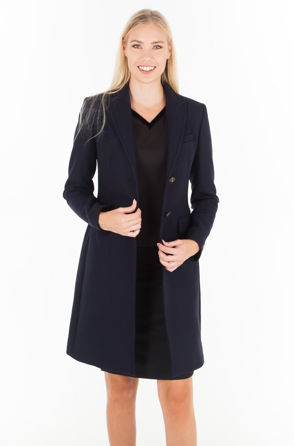 Paltas BELLE CLASSIC WOOL COAT-full-2