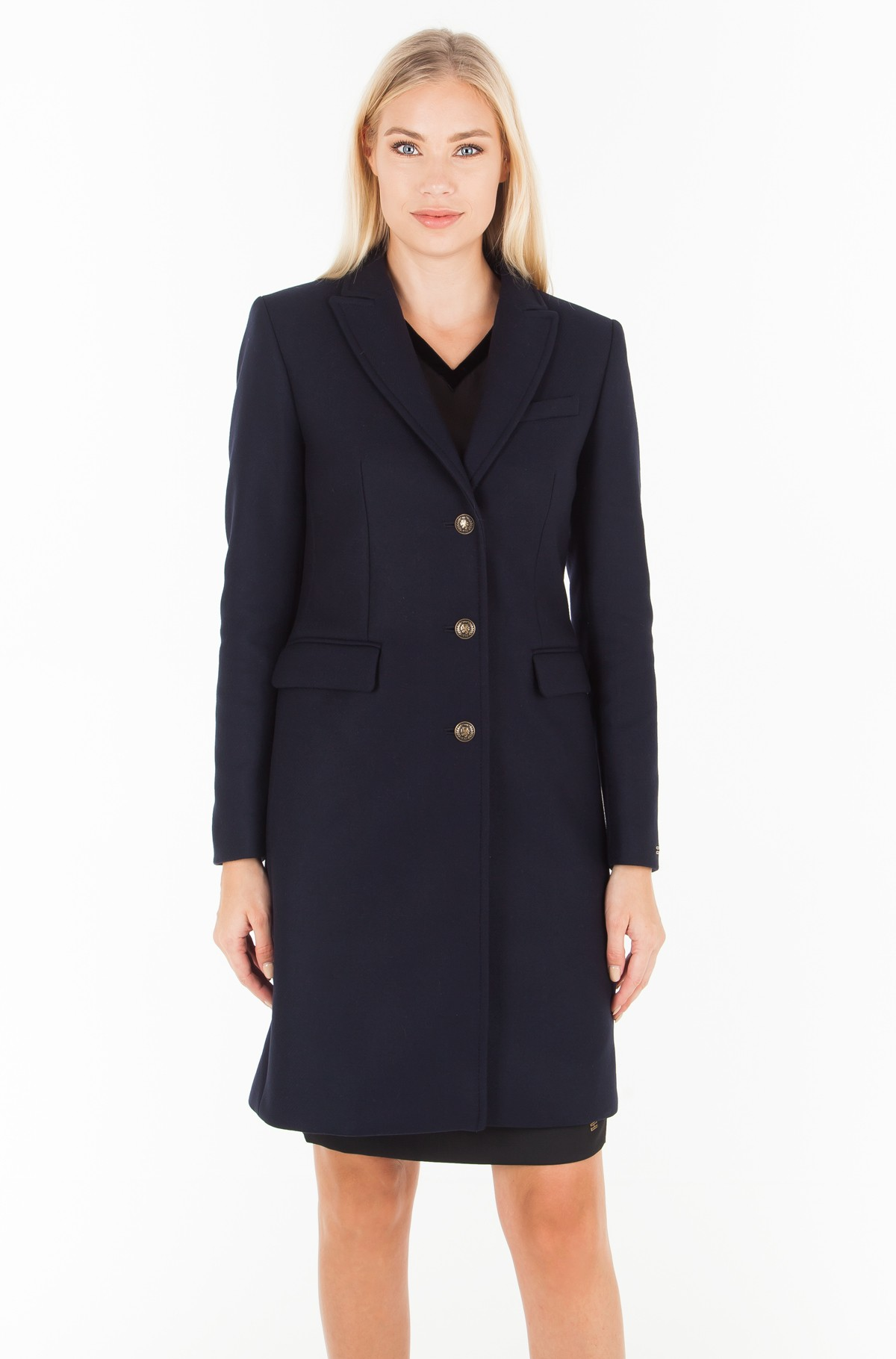 Paltas BELLE CLASSIC WOOL COAT-full-1