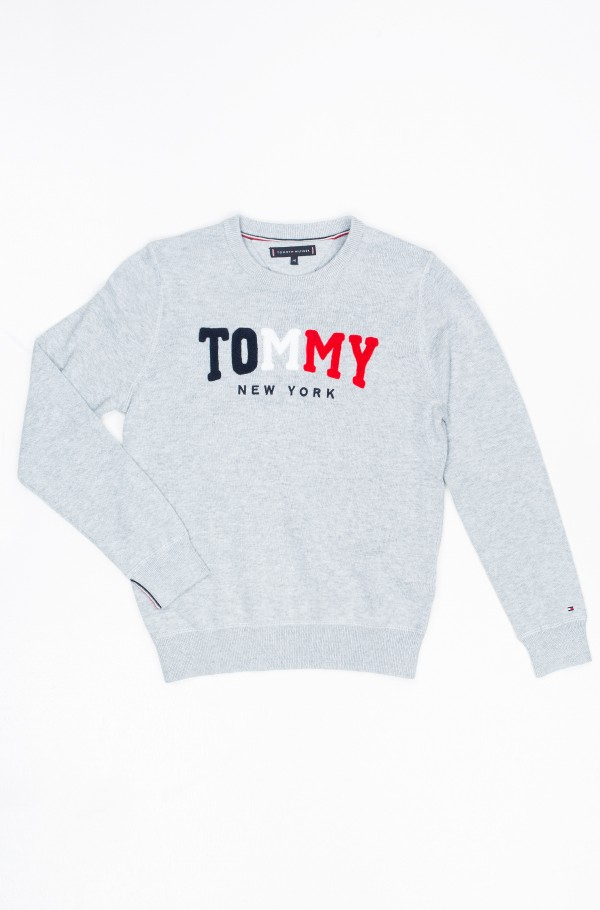 TOMMY TOWELLING SWEATER