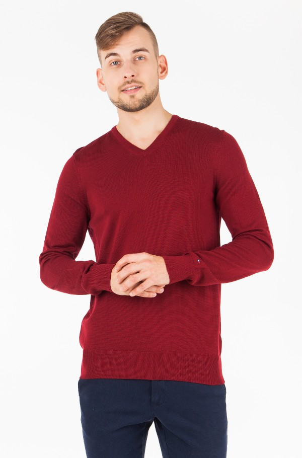 LUXURY WOOL V NECK
