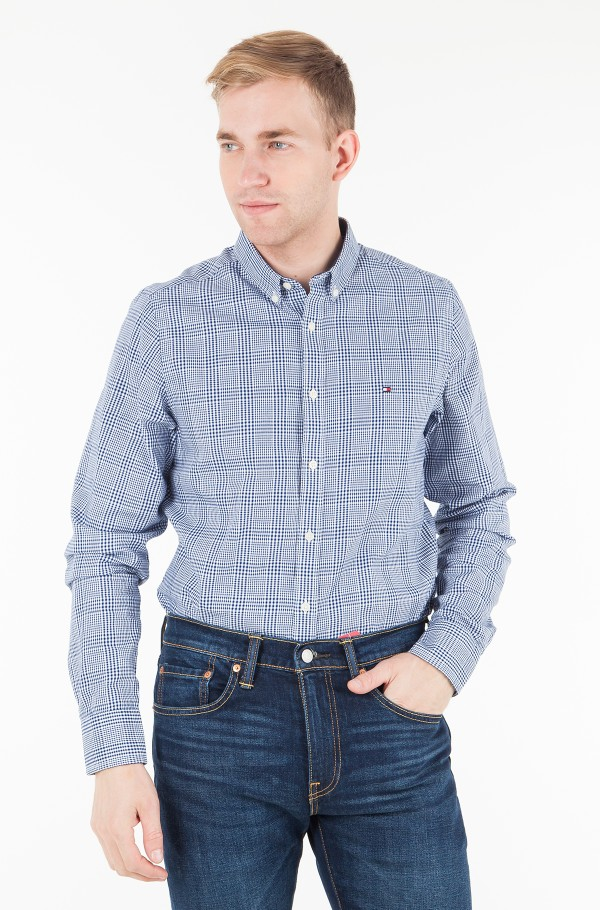 SLIM PRINCE OF WALES SHIRT