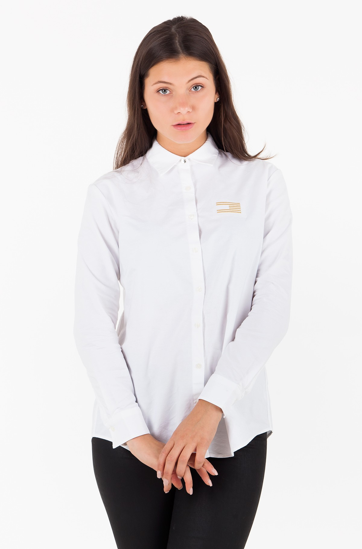 Marškiniai ICON GIRLFRIEND SHIRT LS-full-1