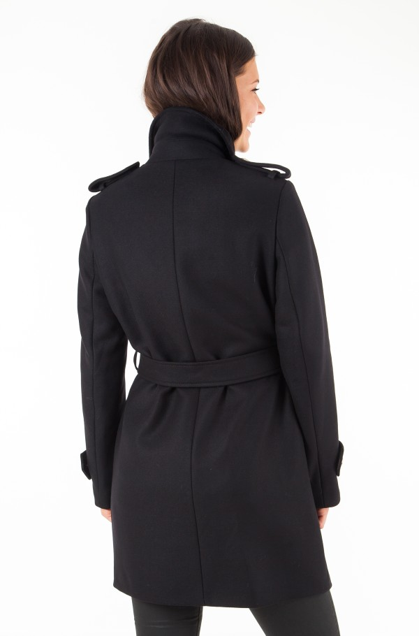 BELLE WOOL BLEND TRENCH-hover