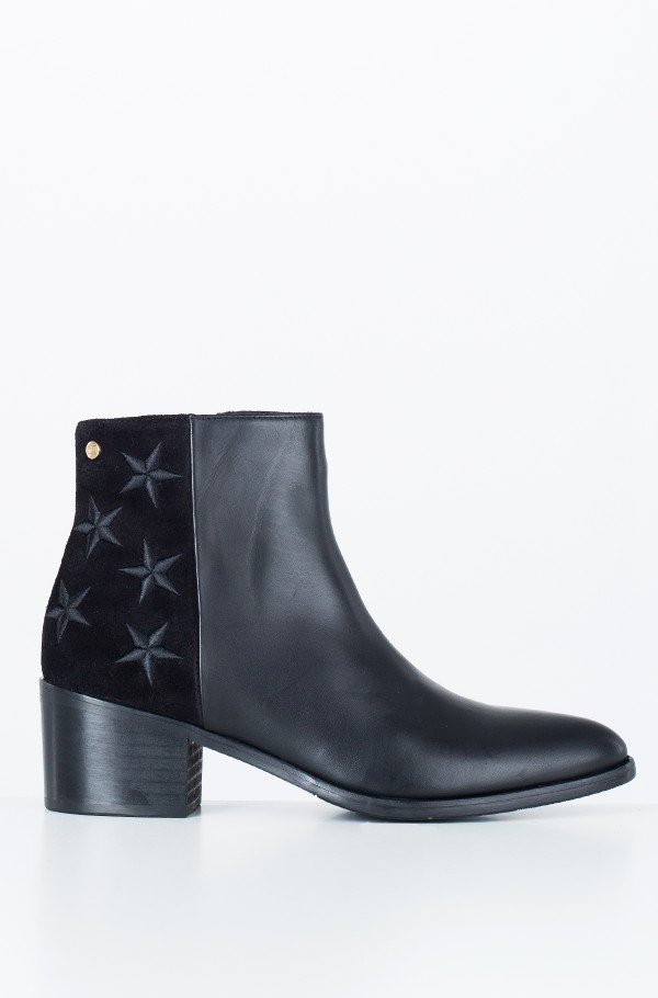 EMBROIDERED STARS BOOTIE