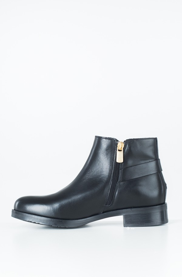 TH BUCKLE LEATHER BOOTIE-hover