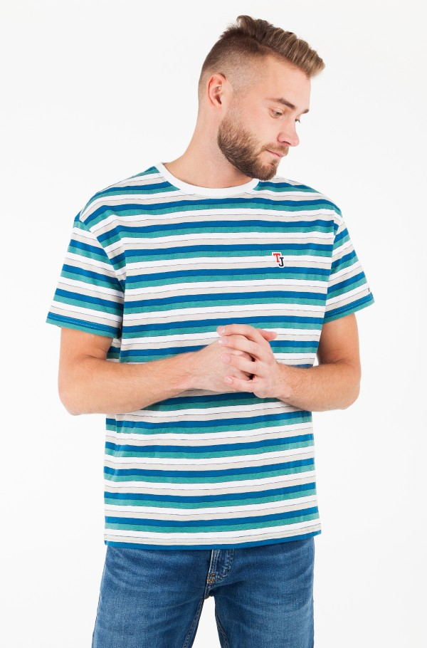 TJM MULTI STRIPE TEE