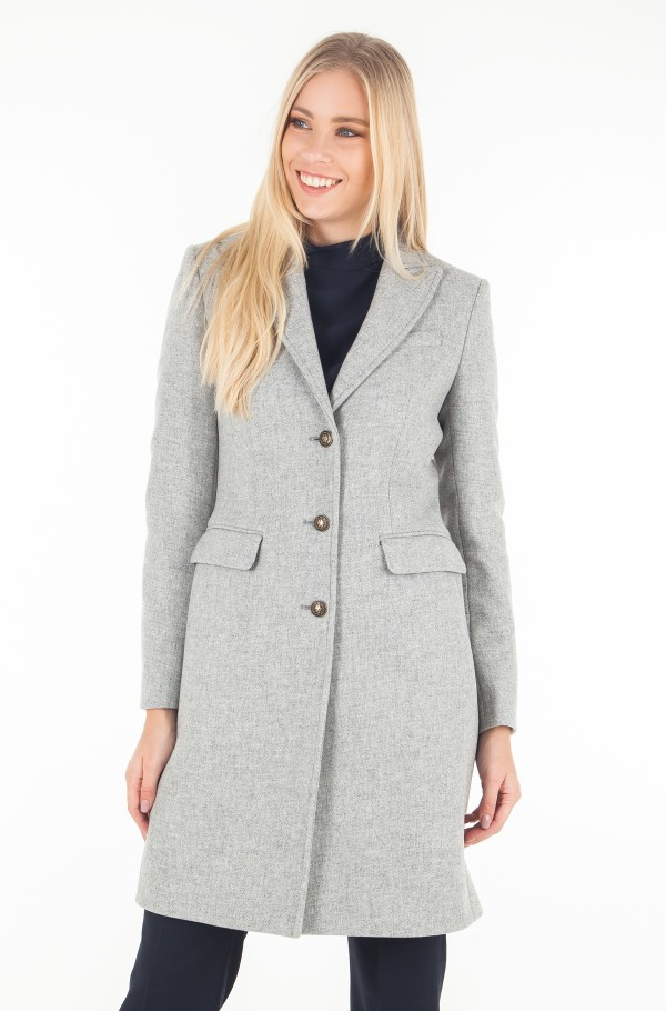 BELLE CLASSIC WOOL COAT
