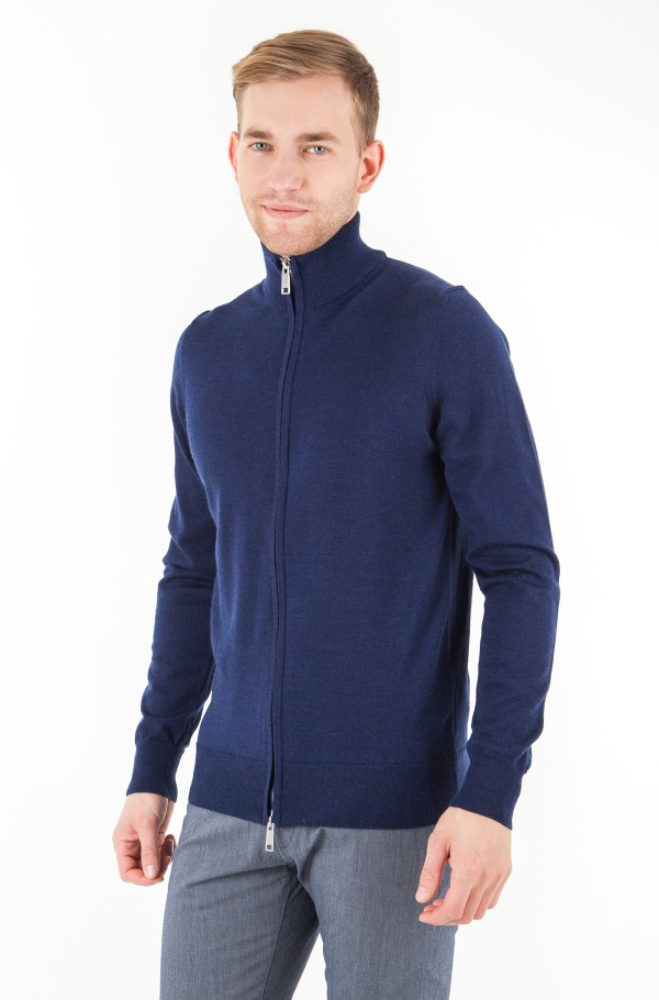 LUXURY WOOL ZIP THROUGH