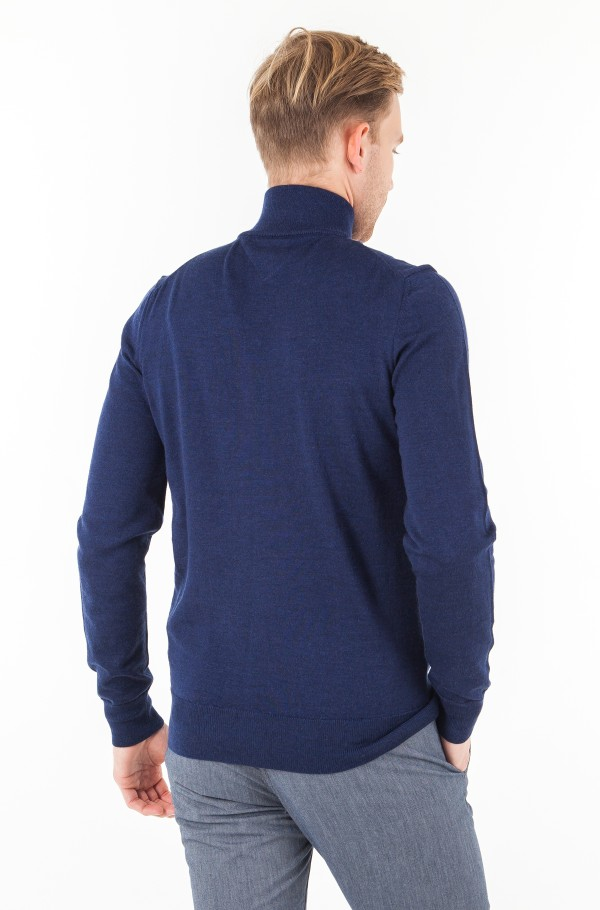 LUXURY WOOL ZIP THROUGH-hover