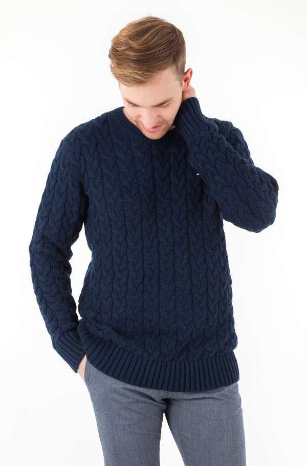TJM CABLE SWEATER