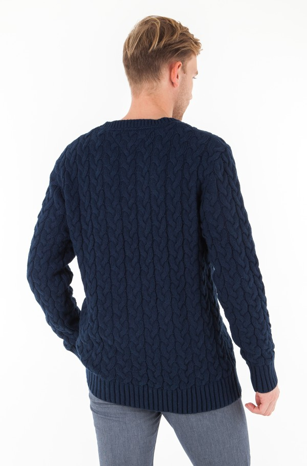 TJM CABLE SWEATER-hover