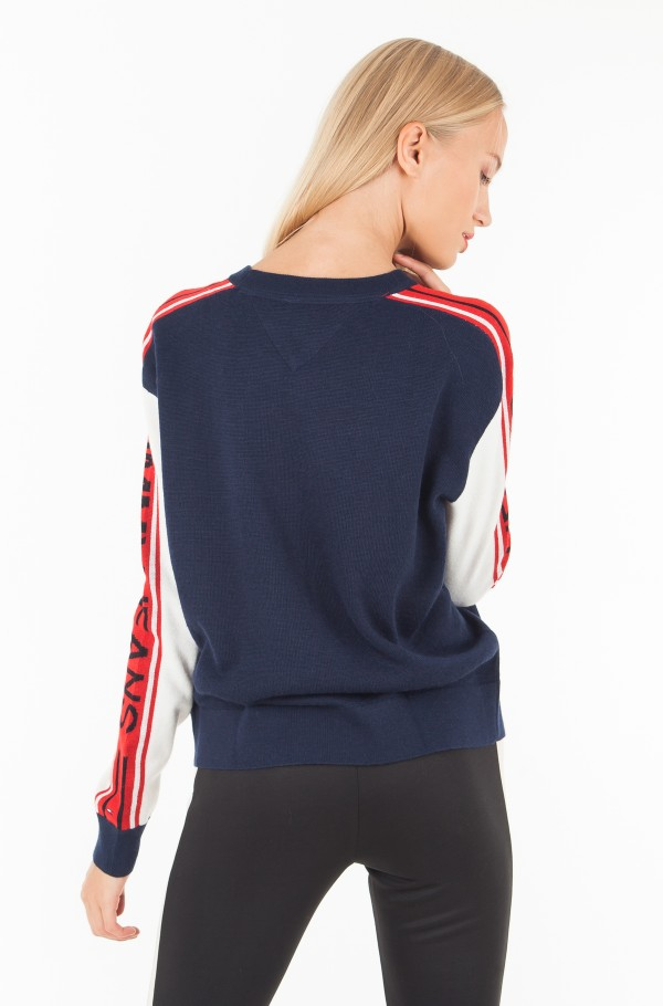 TJW COLORBLOCK SWEATER-hover