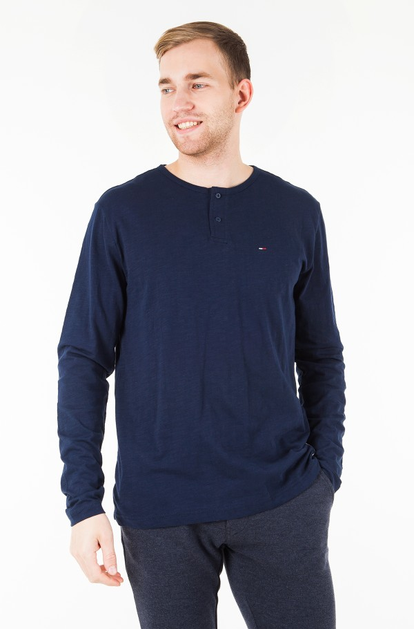 TJM LONG SLEEVE HENLEY