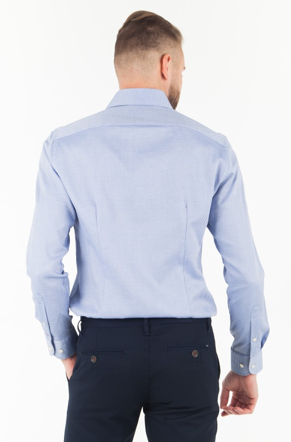 DOBBY WIDE SPREAD SHIRT-hover