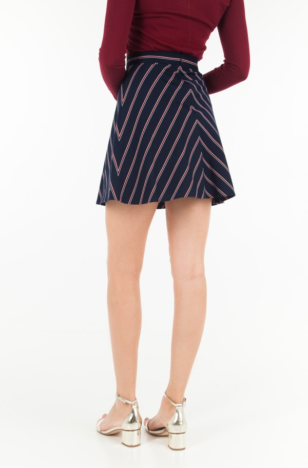 HATTY FLARE SKIRT-hover