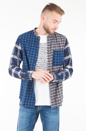 Marškiniai LEWIS HAMILTON CHECK MAO SHIRT-1