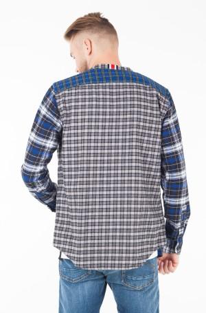 Marškiniai LEWIS HAMILTON CHECK MAO SHIRT-2
